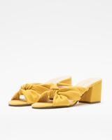 Earin mules yellow front ivanka trump