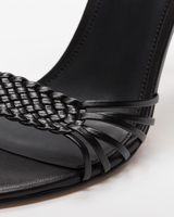 Holie sandals black detail ivanka trump