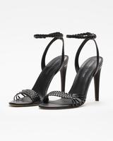 Holie sandals black front ivanka trump