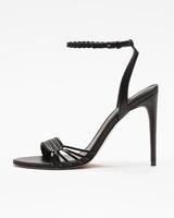 Holie sandals black side ivanka trump